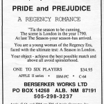 An advert for Pride and Prejudice.