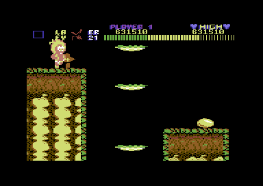 Wonderboy (C64) – a rather different looking version – Games