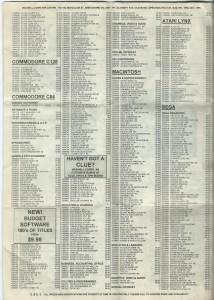 Maxwells Catalogue July 1992