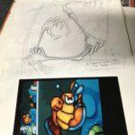 display sketchwork