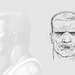 Marv Face Model Sheet