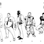 Sin City Character Concept Cops Detectives