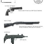 Sin City Character Concept Cops Guns