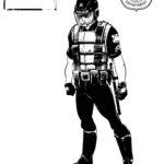 Sin City Character Concept Cops SWAT Cop