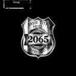 Sin City Character Concept Police Badge