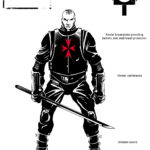 Sin City Character Concept Templar Knight