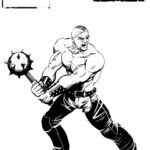 Sin City Character Concept Tong Gladiator