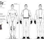 Sin City Model Sheet Brother Mercy