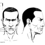 Sin City Model Sheet Brother Mercy Face