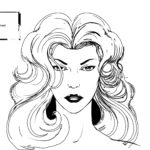 Sin City Model Sheet Wendy Face and Hair