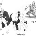 Sin City Tong Boss Sketches Sheet 01