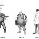 Sin City Tong Concepts Sheet01