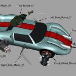 MS3 Weapon Mounts