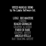 Speed Maniax demo playable 19xxNo LimitsDisk 1 of 2 003