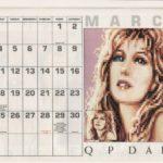 Rollerbabes 1991 Calendar 1991 01 EMAP Images GB supplement 0004