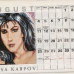 Rollerbabes 1991 Calendar 1991 01 EMAP Images GB supplement 0009