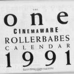 Rollerbabes 1991 Calendar 1991 01 EMAP Images GB supplement 0015