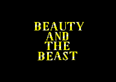 Beauty and the Beast – C64 – 1996 – Games That Weren't - GTW64
