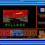 Beauty and the Beast - Commodore 64 - Level 1 - Village - Loading