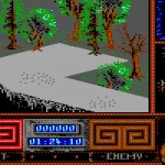 Beauty and the Beast - Commodore 64 - Level 2 - The Wood - game
