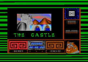 Beauty and the Beast - Commodore 64 - Level 3 - The Castle - Loading
