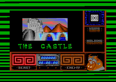 Beauty and the Beast – Commodore 64 – Level 3 – The Castle
