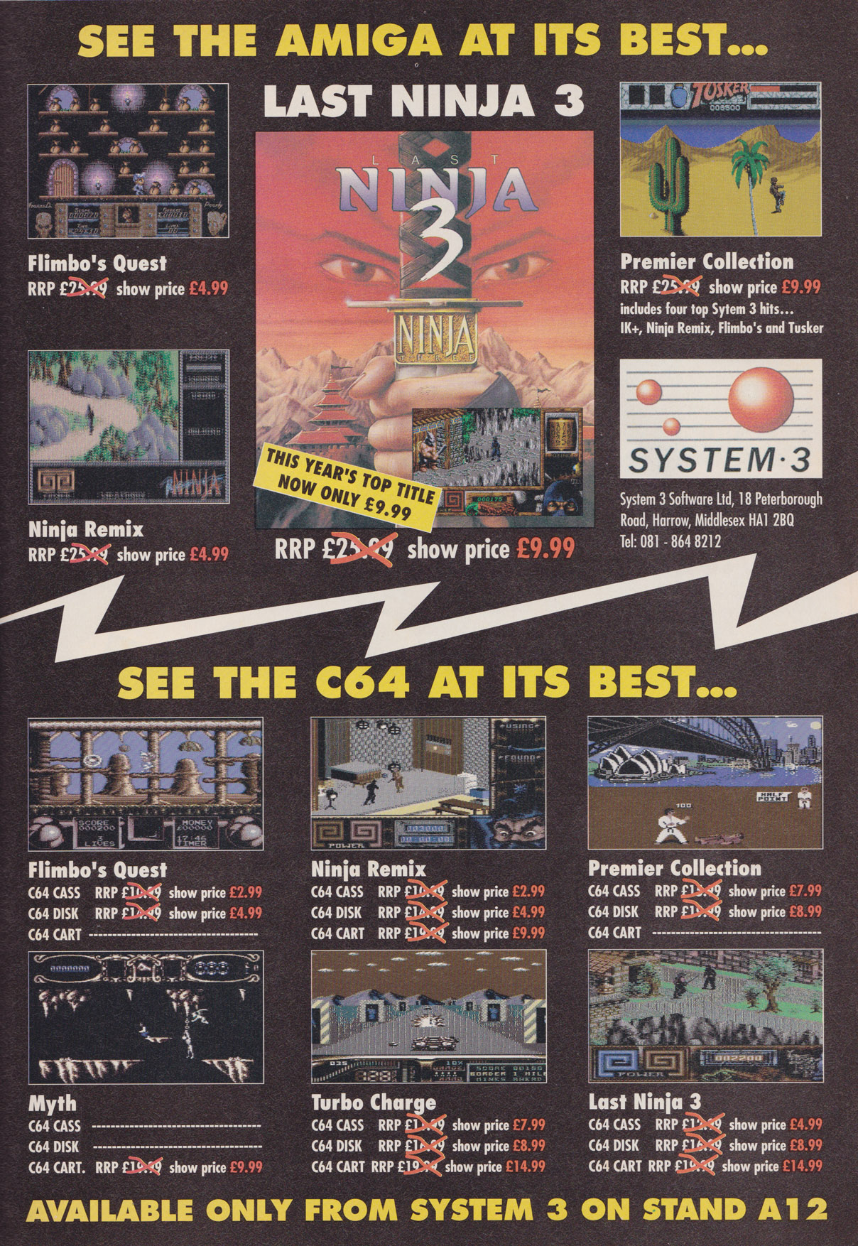 system3-show-ad – Games That Weren't - GTW64 - home of unreleased