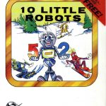 10 little robots ozisoft 198. disk front